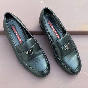 Black Prada Loafers